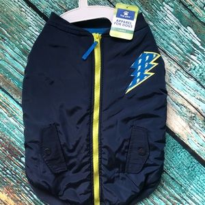 Dogs Zip Up Jacket- Available in Various Sizes